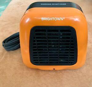 Brightown PTC-002 Mini Desk Personal Compact Ceramic Heater 400W Orange