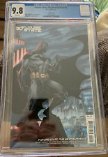 Future State: The Next Batman 4 CGC 9.8 Jim Lee Variant!!