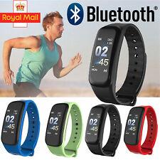 Fit ness Bit Sports Smart Watch Activity Tracker Steps Heart swimming Bluetooth