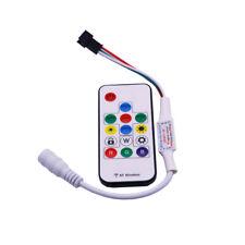 5V-24V RGB Full Color RF Remote Controller Kit for WS2812 WS2811 LED Strip Light