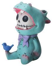 Hippolito Hippopotamus Furry Bones Skellies Figurine