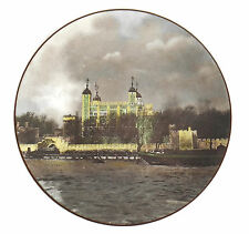 Royal Doulton Collectors Plate Tower Of London Translucent China England Tc1030