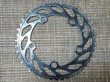 """haro fst old bmx black unidirectional chainwheel sprocket 20"""" pro freestyle bike"""