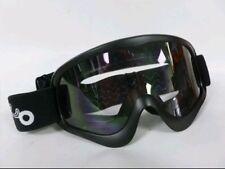 MOTO X1 MX MOTORCROSS QUAD OFF ROAD GOGGLE MATT BLACK NEW