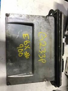 2008 Mazda Tribute ENGINE CONTROL MODULE # 8L8A12A650-AYA