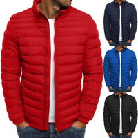 Men's Puffer Bubble Down Coat Jacket Ultralight Quilted Padded Windproof Outwear