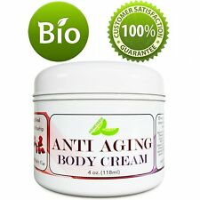 Anti Aging Body Cream 4 Oz | Reduce Fine Lines + Wrinkles + Scars | 100% NATURAL