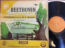 Decca LXT 2872 ERICH KLEIBER Beethoven No.6 ORIG UK-1955 LP NM
