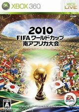 Used Xbox 360 2010 FIFA World Cup MICROSOFT JAPAN JP JAPANESE JAPONAIS IMPORT