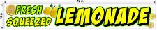 1 X 6 Fresh Squeezed Lemonade Vinyl Banner