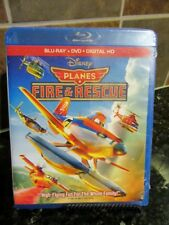 Disney Planes: Fire  Rescue (Blu-ray/DVD, 2014, Includes Digital Copy) NEW
