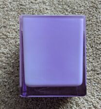 Purple Square Cube Vase