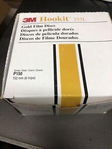 3M 69640 Hook It P150 6 In  100 Discs. New In Box