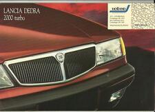 LANCIA 2000 Turbo Opuscolo Vendite AUTO Marzo 1991