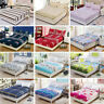 3 Size Bed Fitted Sheet Elastic Sheets Single Twin Full Queen King Bedding Cover
