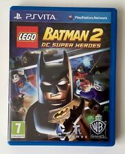 Lego Batman 2 DC super Heroes game for Sony Playstation PS Vita. FREE POSTAGE!