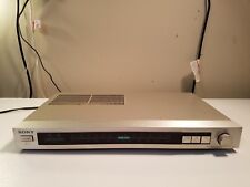 Vintage Sony St-Jx2 Am Fm Stereo Tuner. (Has scratches. Tested, fully works).