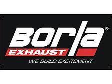 New Borla Exhaust Banner 3'X5' Racing Performance Header Shop Garage Display