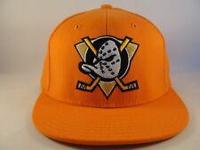 Anaheim Ducks NHL Reebok Flex Hat Cap Size L/XL Orange