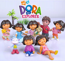 DORA THE EXPLORER ACTION FIGURE DOLL KID DISPLAY FIGURINES CAKE TOPPER DECOR TOY