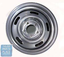 "GM 15X7 Silver Powder Coated Rally Wheel 4.25"" Backspacing"