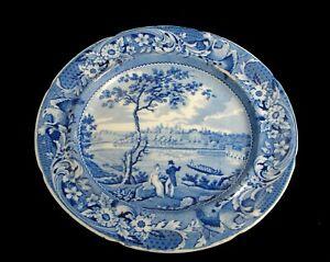 Stubbs Historical Staffordshire Transferware Plate Fair Mount near Philadelphia