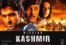 MISSION KASHMIR Movie POSTER 27x40 Sanjay Dutt Hrithik Roshan Preity Zinta Puru