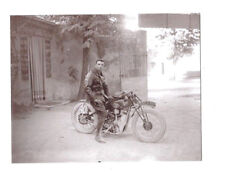 moto  avec arbre à cames en tête SOYER  : course de la colline à Orange