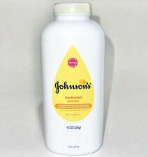 Johnsons Medicated Diaper Rash Baby Powder Zinc Oxide and Natural Cornstarch