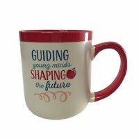 Abbey + CA TEACHERS Coffee Mug Cup GUIDING young minds SHAPING the future NEW
