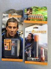 Lot of  3 Gerber Bear Grylls Survival Scout Kit Bracelet And Torch