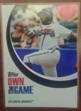 2007 ANDRUW JONES TOPPS OWN THE GAME INSERT CARD #OTG16 ATLANTA BRAVES