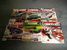 Holden Extreme Holdens Magazines 4+Street Commodores+Street Machine