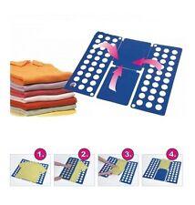 Falthilfe Wäsche-Falter Hemden T-Shirts Poloshirts Wäschefalter Shirtfolder NEU