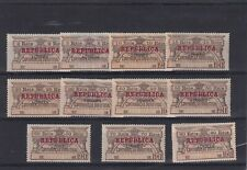 0479 Portugal ( revenue) 1911 MNH/MH Contribucao Industrial Nice lot scan