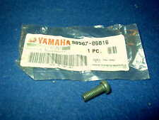 YAMAHA AG100 AG200 CV50 DT125 BA50 CS50 GEN NOS PAN HEAD SCREW 98507-06016