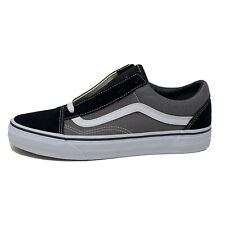 Vans Old Skool Black Pewter Men's 7 Women's 8.5 Grey Gray Skate Shoes New