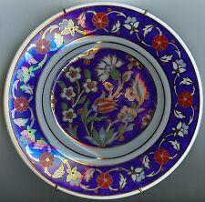 "6"" Kutahya Porselen Fine Porcelain Floral Pattern Plate with Velvet Display Box"