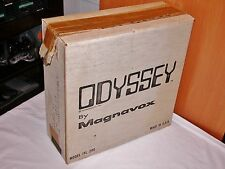 MAGNAVOX ODYSSEY 1972 PONG SER #11441136 COMPLETE W/SHIPPING BOX WORKING ITL 200
