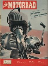 M5404 + Test MOTO PARILLA Tipo 125 ccm Sport + das MOTORRAD 4/1954 vom 27.2.1954