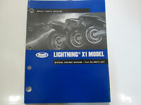2002 Buell Lightning X1 Model Parts Catalog Manual FACTORY OEM BOOK New