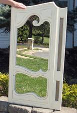 antique Farm Shabby Mirror ed Cupboard Door