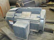 SURPLUS LINCOLN ELECTRIC MOTOR MADE USA 15HP 1175 RPM 254T