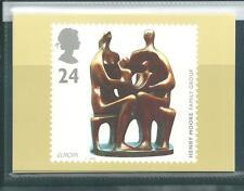 Wbc. - gb-porte cartes - 1993-europa-art contemporain-comp. set mint
