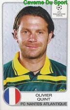 125 OLIVIER QUINT FRANCE FC.NANTES STICKER PANINI CHAMPIONS LEAGUE 2001-2002