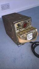 WWII Wireless set No 19 Power Supply .