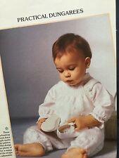Tejer patrón bebé Peto Ojal patrón de agujero 20 in (approx. 50.80 cm) pecho