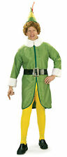 Adult Mens Funny Buddy Elf Movie Costume Fancy Dress Up Christmas