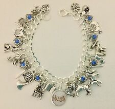 Narnia Charm Bracelet, The Lion, The Witch And The Wardrobe, C. S. Lewis