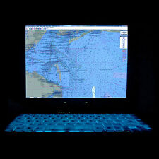 General Dynamics GD8000 128GB SSD Touchscreen Rugged GPS Backlit Marine Laptop